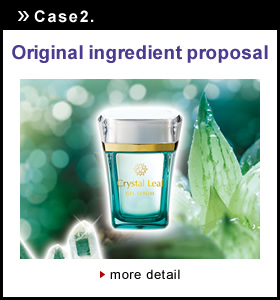 Case2Original ingredient proposal